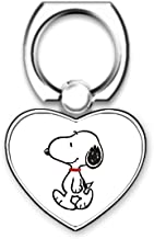 LookSeven Snoopy Pattern Cell Phone Finger Holder,Universal Smartphone Rotatable Ring Grip Stand for Cell Phone,iPad and Tablets #04