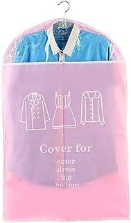 Qualité supérieure Housses for vêtements respirant Costume Robes Cover Set Sac de 6 antipoussière Veste sac de rangement f...