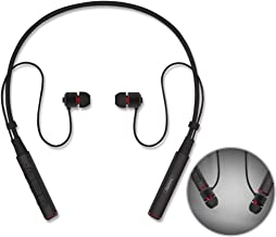 Sport Bluetooth Headphones,Remax V4.1 Wireless Neckband Noise Cancelling Earphone Magnetic Earbuds Sweatproof Headset HD Stereo In-Ear Earphones 7-9 Hrs Playtime for Running Gym Workout w/Mic (Black)