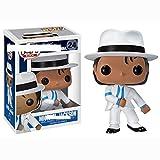 ZXWDIAAE Bobblehead Pop Michael Jackson decoración del Coche ( Color : D )...
