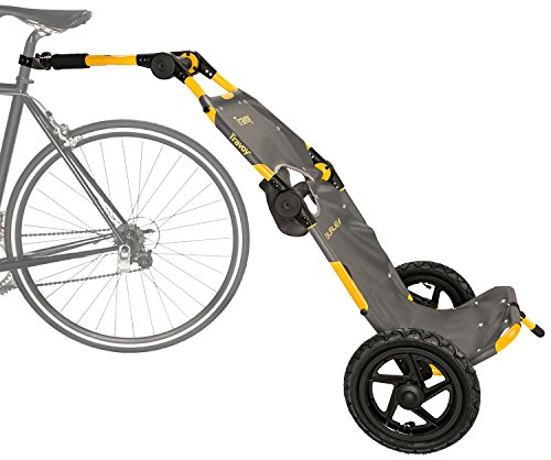 Fantastic Deal! Burley Travoy Trailer Yellow One Size