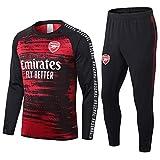 QJY Arsenal Adulte Football Jerseys Rugby Vêtements Club Uniformes Formation à Manches Longues Costumes de compétition Vêtements pour Hommes Costume 2 pièces Arsenal Sportswear
