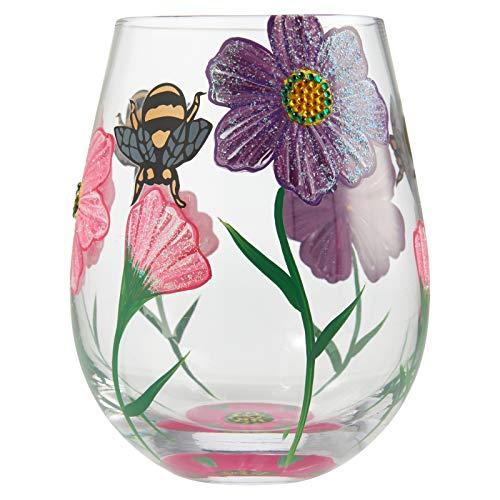 Lolita, Vaso con dibujo de flores, Enesco