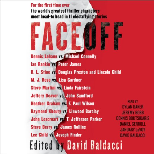 FaceOff audiobook cover art