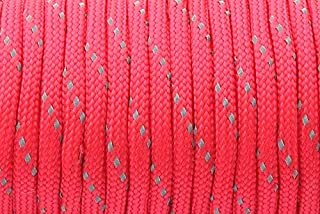 100feet 149 White CUSHY GEGEDA 7 Strand 4mm Paracord 550 100ft Camping Outdoor survl Type iii Cord Wholesale