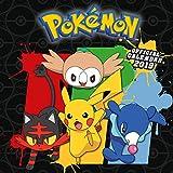 Pokemon Official 2019 Calendar - Square Wall Calendar Format [Lingua inglese]...