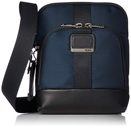 TUMI - Alpha Bravo Barksdale Crossbody Bag - Satchel for Men and Women - Navy