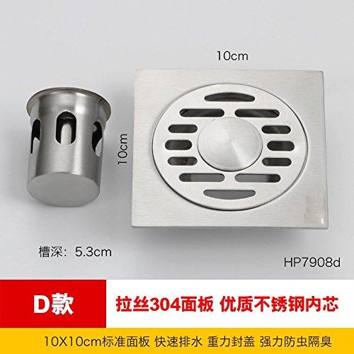 MDRW-Badkamer Accessoires RVS Vloerafvoer Deodorant Core Badkamer Wasmachine Drie Manieren Anti Blokkeren Riool Vloerafvoer Cover