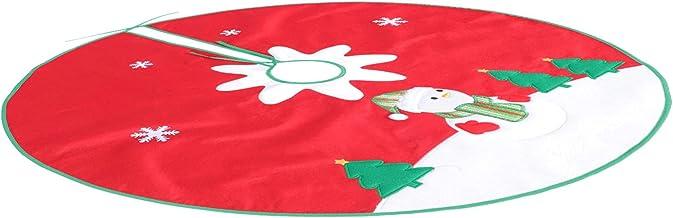 KESYOO Christmas Tree Skirt Christmas Tree Collar Tree Skirt Tree Ring Christmas Home Party Indoor Decor Ornaments