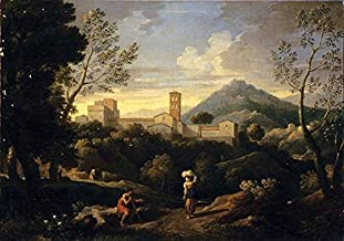 Classical Landscape with Figures by Jan Frans Van Bloemen - 21