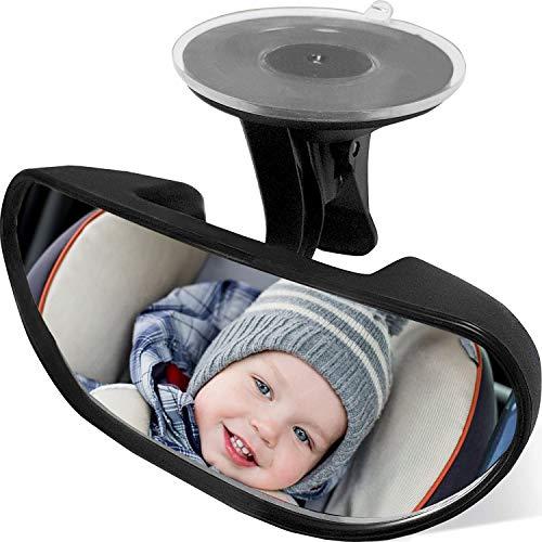 Rücksitzspiegel, Baby Kinder Rückspiegel, Rücksitzspiegel Baby, Rücksitzspiegel für Babys Kindersitz, Einstellbare Auto Baby Ansicht hinten Sitz Baby Sicherheit Spiege