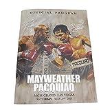 (メイウェザー スポーツ) MAYWEATHER SPORTS MAY-AC001 2015年5月 パッキャオ戦 MAYWEATHER VS. PACQUIAO オフィシャルプログラム カタログ 全76ページ