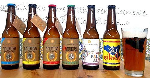 'AMURUSA' kit da degustazione 6 bottiglie da 330 ML
