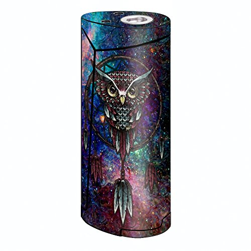 Skin Decal Vinyl Wrap for Smok Priv V8 60w Vape stickers skins cover/ Dreamcatcher Owl in Color