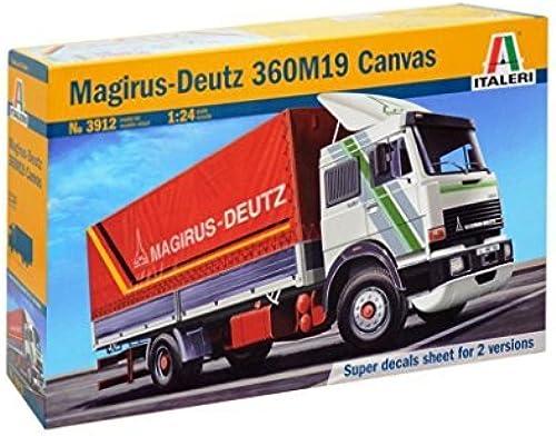 Italeri 1 24 3912 Magiruz Deutz 360M19 toile Model Truck Kit by Italeri