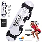 Aqua Bag (JoyPlus - Sandbag Alternative - Adjustable Aqua Bag and Power Bag with Water - Core and Balance Trainer - Portable Stability Fitness & Full Body Workout Equipment,Cylinder,MAX Weight 44LB)