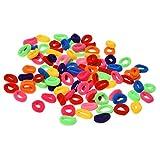 ACAMPTAR 90 Stueck/Pack Elastische Suessigkeiten Farbe Baby Handtuch Kinder Headband (Farbe:...