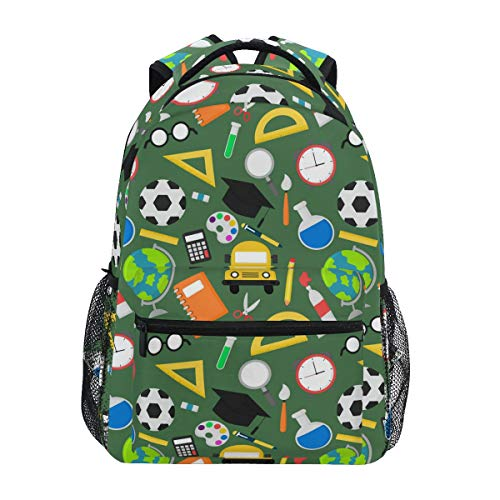 School Backpack Ruler Book Elementary College Daypack for Girl Boy 2010376