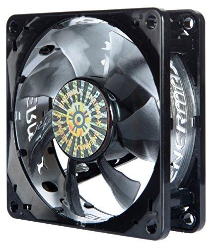 Enermax T.B.Silence PWM - Ventilador para caja de ordenador (0.25 A, 2200 rpm, 59.65 CFM), negro [Alemania]