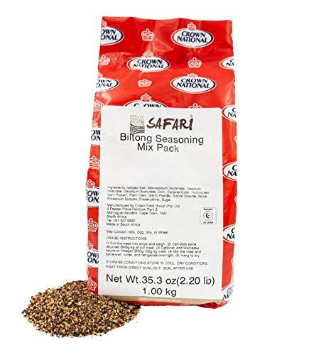 Safari Biltong Jerky Seasoning, 2.2…