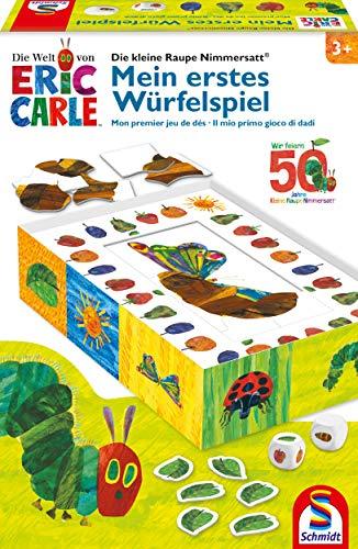 Schmidt Spiele 40575 Die kleine Raupe Nimmersatt, Mein erstes Würfelspiel, bunt