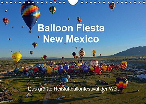 Balloon Fiesta New Mexico (Wandkalender 2019 DIN A4 quer): Das größte Heißluftballonfestival der Welt. (Monatskalender, 14 Seiten )