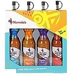 Nandos 4 peri peri sauces with pourers gift set …