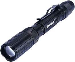 LED Flashlight, Telescopic Focusing Small Flashlight, Aluminum Alloy Glare Multi-Function Flashlight Outdoor Long-Range Fl...