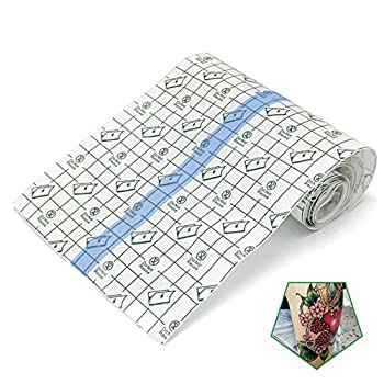 Tattoo Aftercare Bandage Roll 6 x 2 Yard - Waterproof Transparent Film For Tattoo Initial Healing And Skin Repair Adhesive Tattoo Supply Wrap
