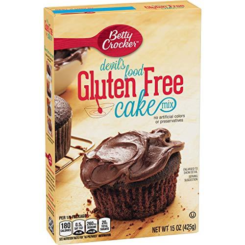 Betty Crocker Baking Mix, Gluten Free Cake Mix, Devil's Food, 15 Oz Box