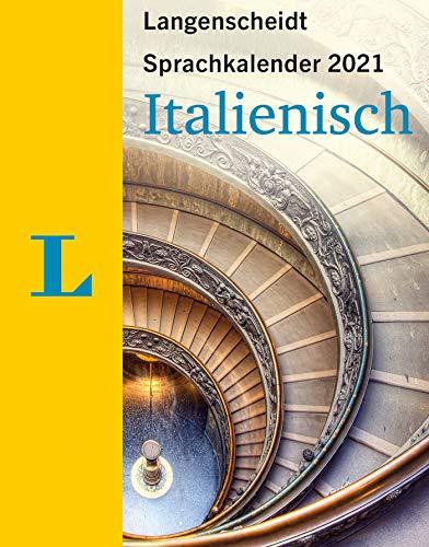 Langenscheidt Sprachkalender Italienisch 2021: Tagesabreißkalender