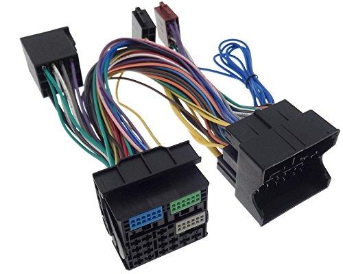 Parrot THB Adaptador Compatible con Audi Seat Skoda VAG a Partir de 2009 52 Pines Bluetooth Quadlock ISO Cable