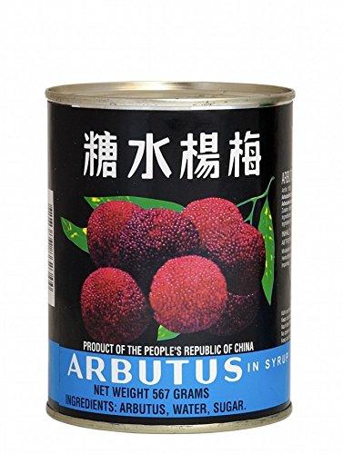 AEF Arbutus leicht gezuckert [ 567g/230g ATG ] Erdbeerbaum Früchte