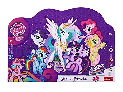 Puzzle enfant 20 pièces avec cadre My Little Pony