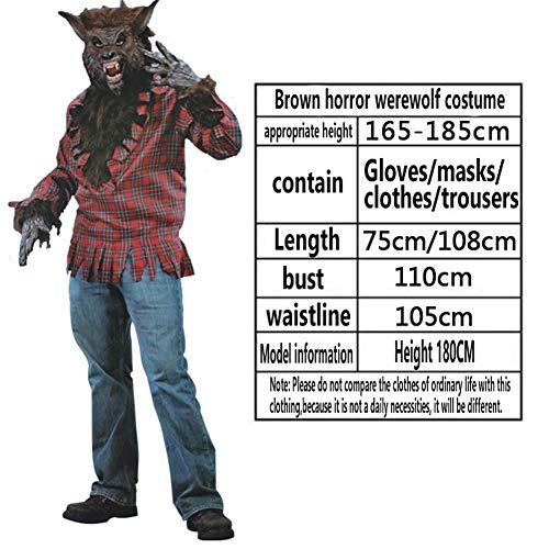T682541 Halloween Kostüm Ghost Kostüm Horror Zombie Männliche Und Weibliche Geister Kleidung Erwachsene Männer Und Frauen Kostüme,A