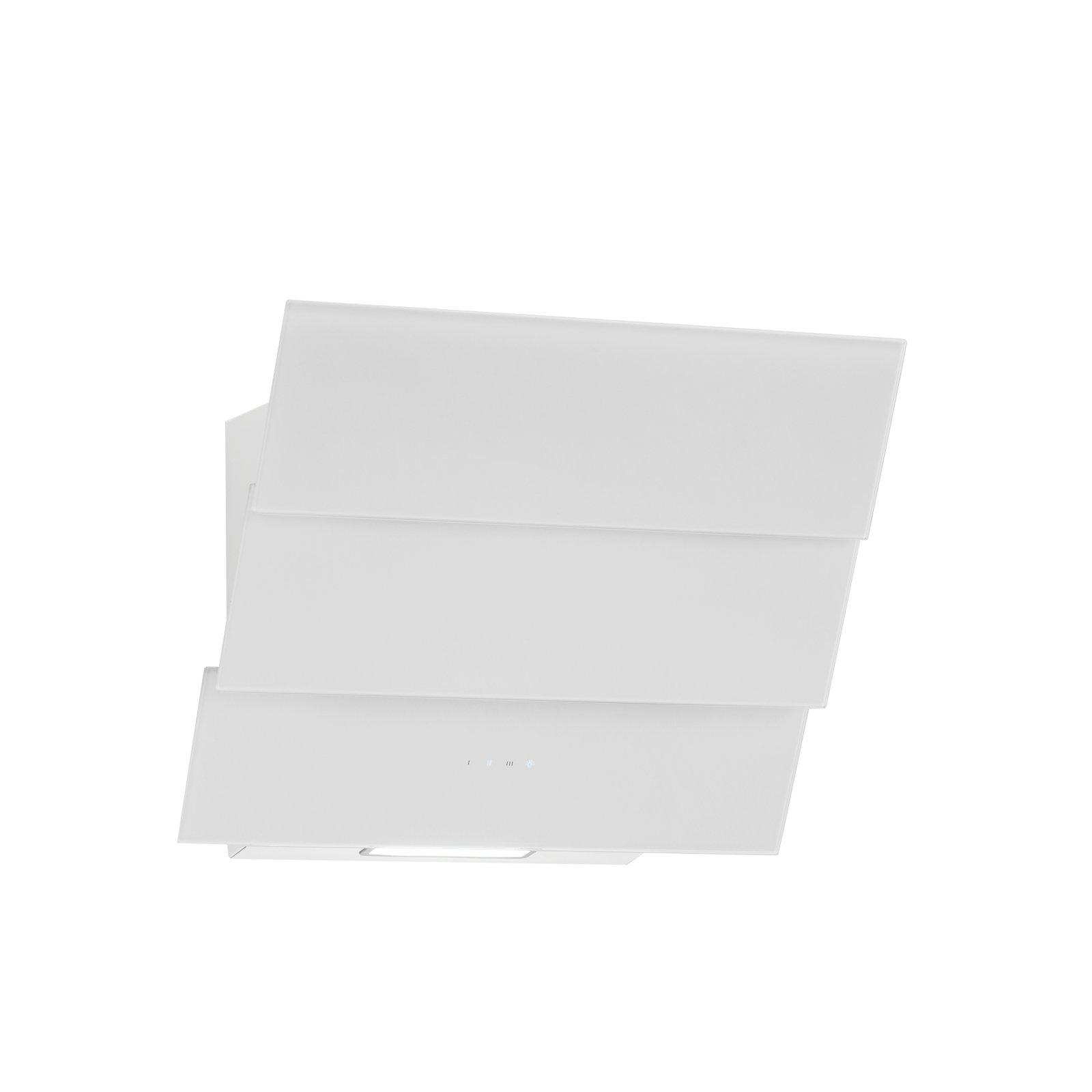 Campana extractora libre de cabeza Atria Blanco Cristal 60 cm, eficiencia energética: A 850 m³/h Motor Chimenea Color Blanco: Amazon.es: Grandes electrodomésticos