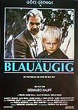 Blauäugig - Reinhard Hauff - Götz George - Filmposter A3