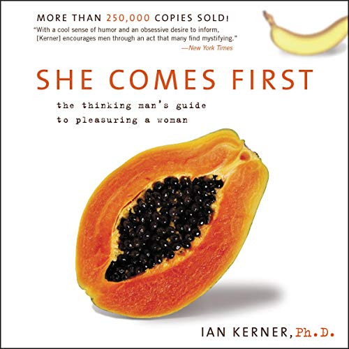 She Comes First audiobook cover art