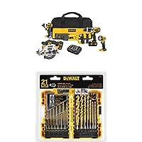 DEWALT DCK592L2 20V MAX Premium 5-Tool Combo Kit by DEWF9