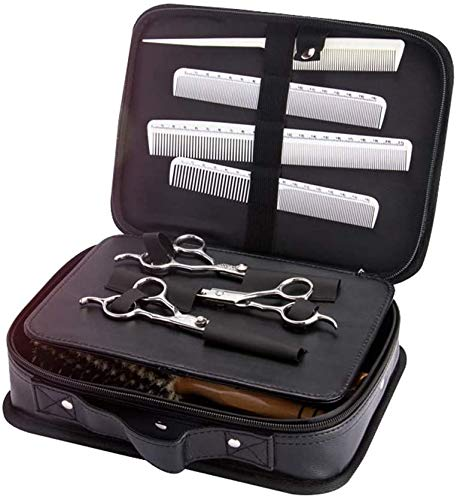 Panelk Multifonction Outils portatifs capillaires Professionnels Ciseaux de Coiffure Sacs à Outils Forfait d'admission,Black