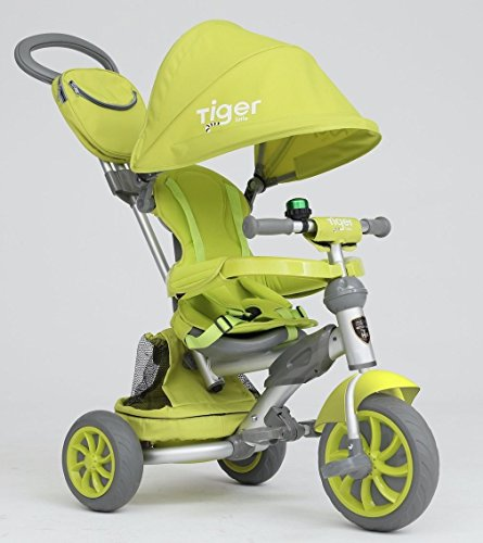 Y & Y TOY STORE ON LINE LITTLE TIGER 4 IN 1 GREEN KIDS TRIKE TRICYCLE...