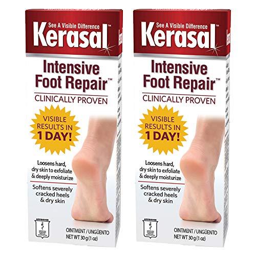 Kerasal Intensive Foot Repair Ointment 1 oz (Pack of 2)