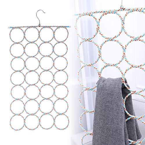 Multifunctional 28 Count Loops Hanger Organizer