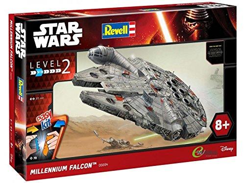 Revell- Millenium Falcon RC, Colore Grigio, RV06694