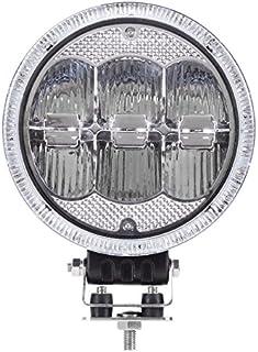 LED Fernscheinwerfer'Raptor' mit LED Ring als Positionslicht   ø 177,8 mm   Aluminium schwarz   12/24 Volt   für LKW, Transporter, Geländewagen etc. 177,8mm~