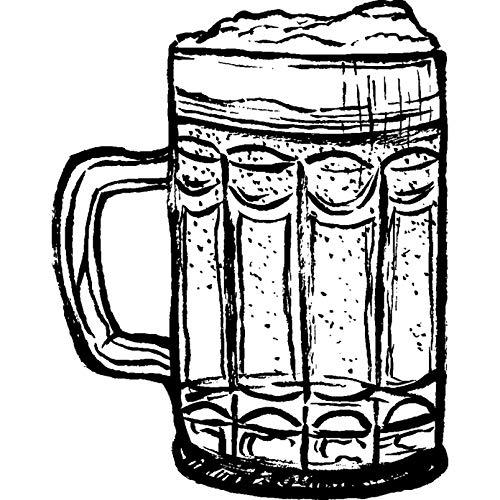 A8 'Glas Bier' Stempel (Unmontiert) (RS00020103)
