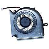 CPU Cooling Fan for MSI GE75 GP75 GE73 GP73 GL73 GL63 GE63 GP63 GV63 GP75VR GE73VR GE63VR MS-17E2 MS-17C1 MS-16P1 MS-16P5 MS-16P7 Series Laptop Cooler PAAD06015SL-N417 N383 (CPU Fan)