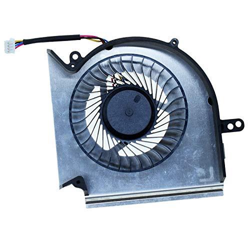 CPU Cooling Fan for MSI GE75 GP75 GE73 GP73 GL73 GL63 GE63 GP63 GV63 GP75VR GE73VR GE63VR MS-17E2 MS-17C1 MS-16P1 MS-16P5 MS-16P7 Series Laptop Cooler PAAD06015SL-N417 N383 (CPU Fan)