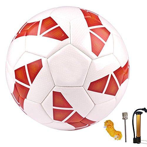 Senston Ballon de Soccer sans Soudure à Collage...