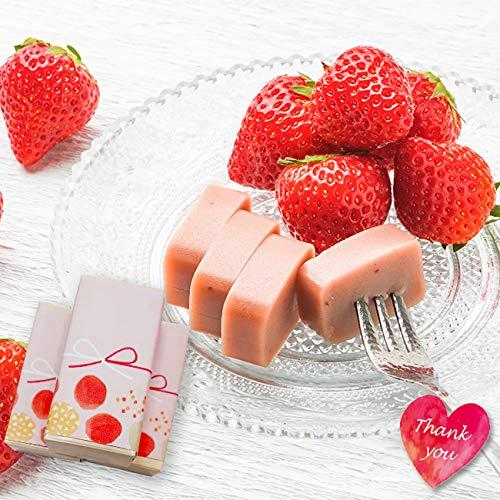 内祝 御祝 いちご和ショコラ チョコレート 1箱あたり60g 義理チョコ プレゼント 御礼 お配り ギフト 良平堂 (100箱)